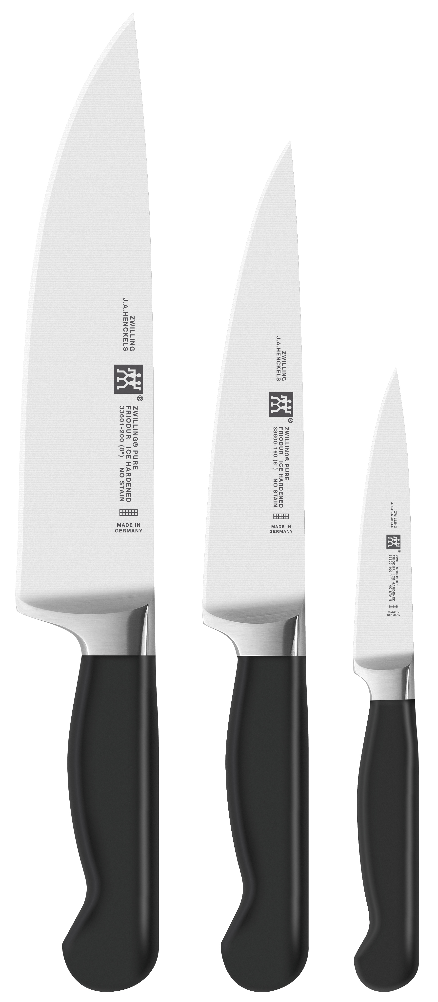 Zwilling: Pure Messerset, 3-tlg.