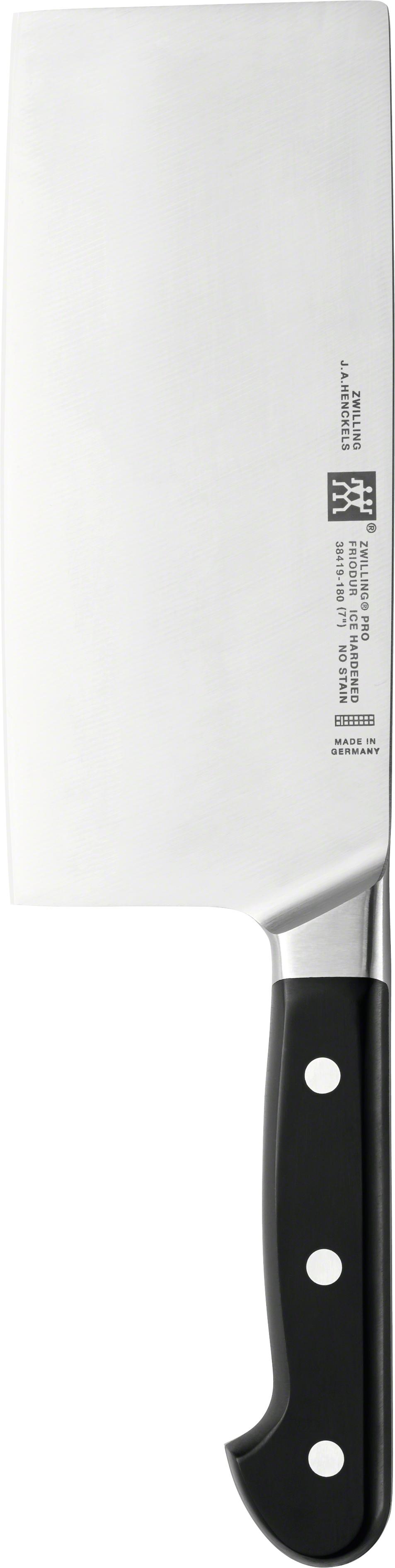 Zwilling: Pro Chinesisches Kochmesser, 180mm
