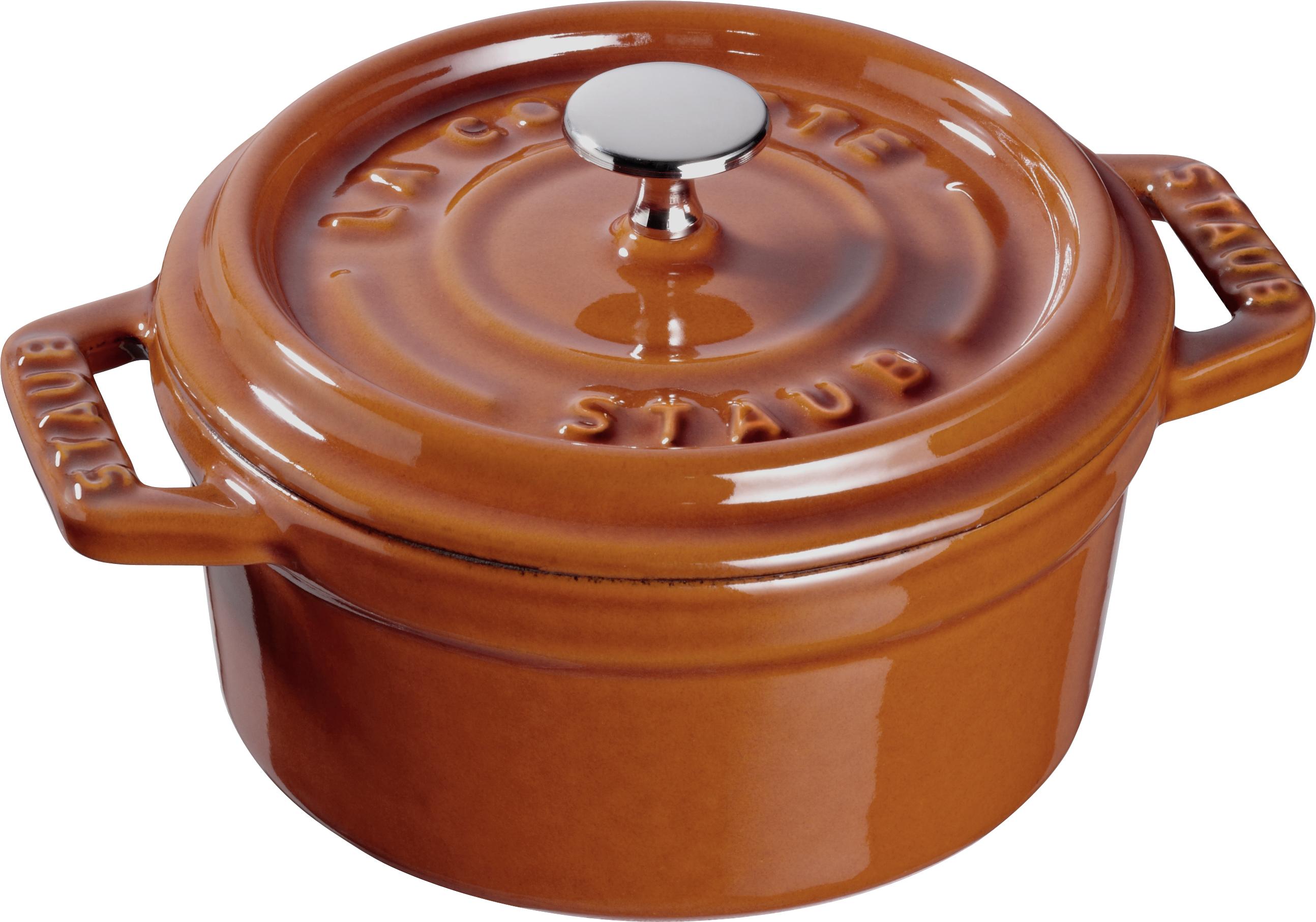 Staub: Runde Mini Cocotte, Zimt, Ø10cm
