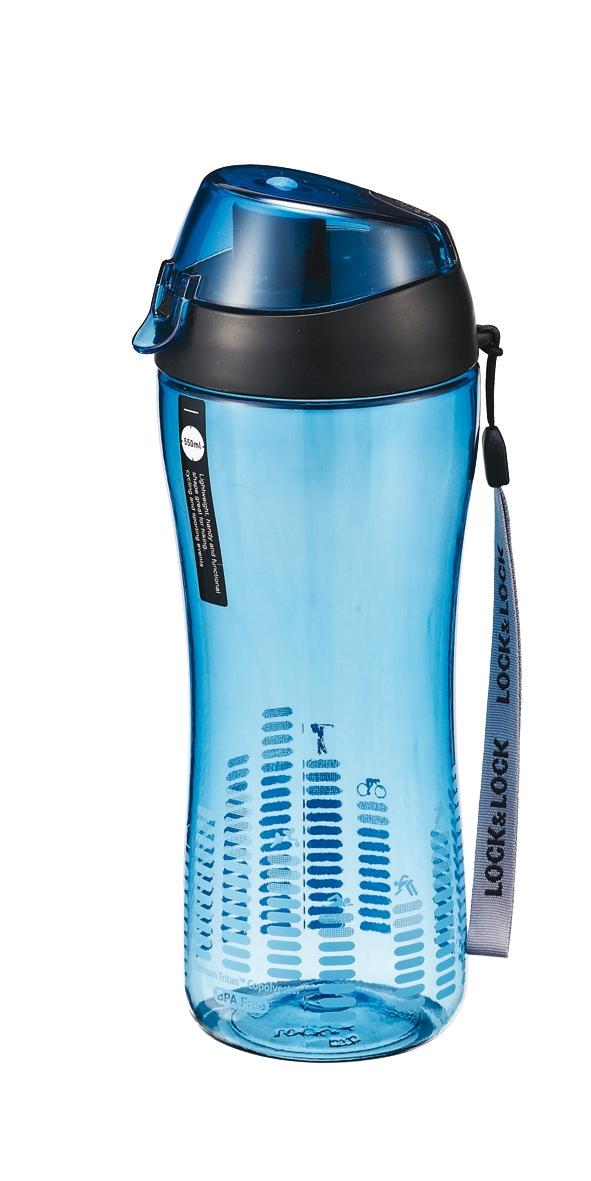 Lock & Lock: Bisfree Sportflasche, blau