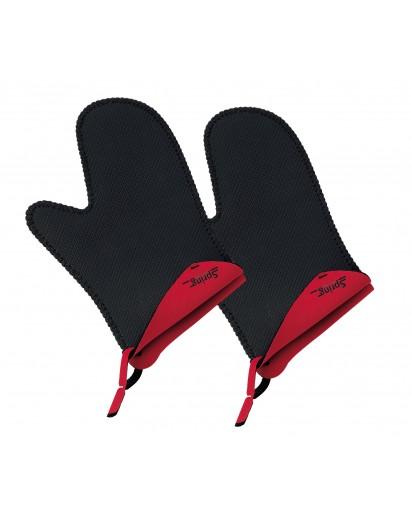 Spring: Grips Handschuhe kurz, rot