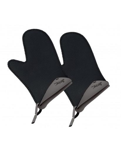 Spring: Grips Handschuhe kurz, grau
