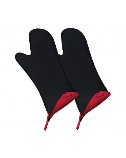 Spring: Grips Handschuhe lang, rot