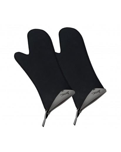 Spring: Grips Handschuhe lang, grau