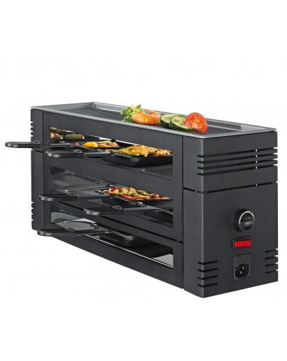 Spring: Pizza Raclette für 6 Personen, Schwarz