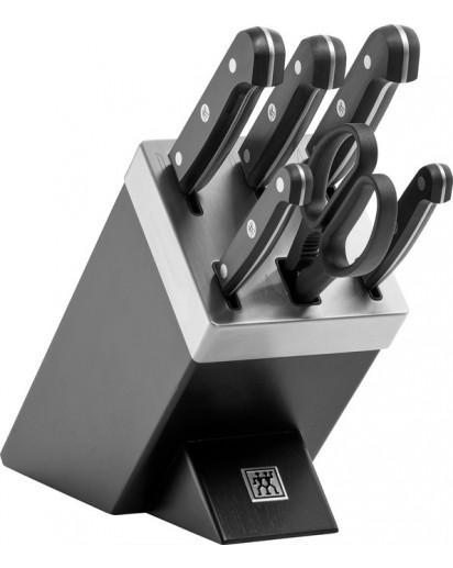 Zwilling: Gourmet Selbstschärfender Messerblock 7-tlg.