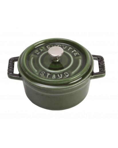 Staub: Runde Mini Cocotte, Basilikumgrün, Ø10cm