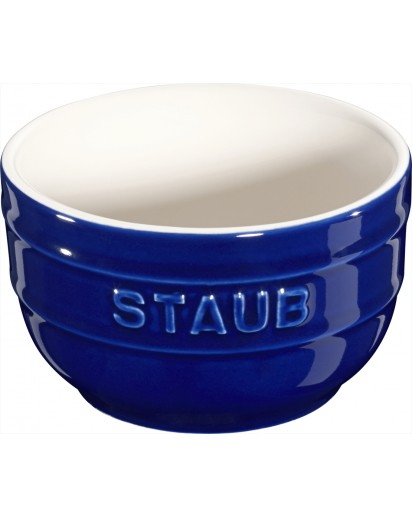 Staub: Förmchen 2er Set rund, Ø8cm, blau