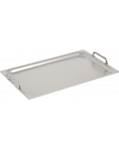 Demeyere: Teppanyaki /Plancha Grillplatte groß, 53cmx32,5cm