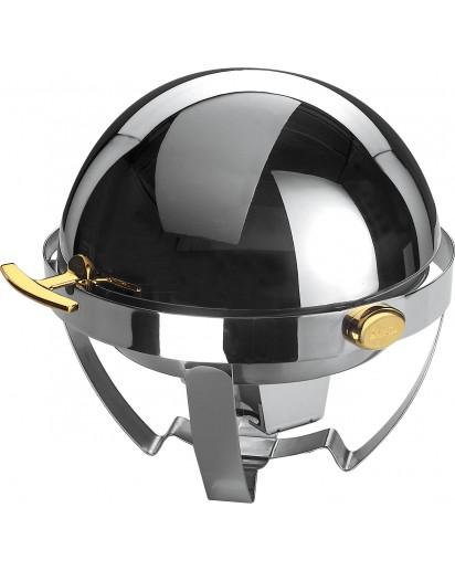 Spring: Rondo Classic Chafing Dish mit Rolltop, Ø56cm, vergoldet