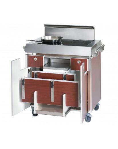 Spring: CCS Kochstation mit Schubladen GN 1/3