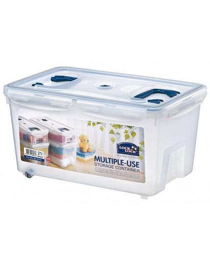 Lock & Lock: Aufbewahrungsbox 21 Liter, 2 Griffe (HPL896)