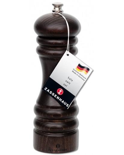 Zassenhaus: Salzmühle 'Berlin' Buche dunkel gebeizt, 18cm