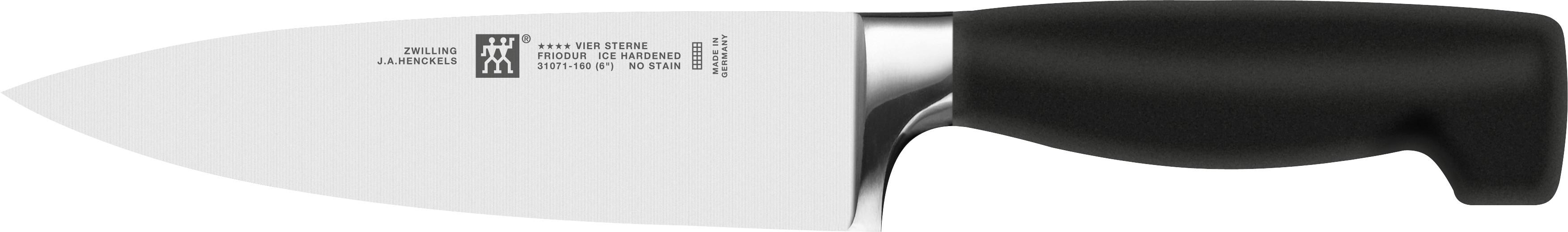 online shop vier sterne kochmesser 160 mm bis 260 mm kaufen. Black Bedroom Furniture Sets. Home Design Ideas