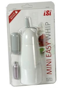 iSi: Mini Easy Whip weiß Blisterkarte + Kapsel