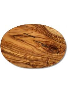 Schneidbrett Olivenholz oval