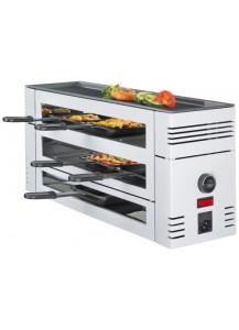 Spring: Pizza Raclette für 6 Personen mit Alugrillplatte