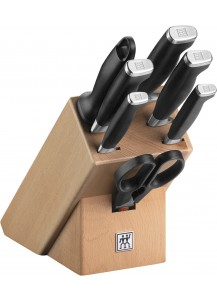 Zwilling: Twin Four Star II Messerblock natur, 8-tlg.