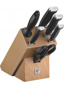 Zwilling: Twin Four Star II Messerblock natur, 7-tlg.