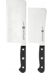 Zwilling: Gourmet Messerset 2-tlg., Chin. Kochmesser + Hackmesser