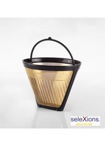 Selexions: GF2S Gold Kaffee-Dauerfilter (Filter Nr. 2) mit Titanhartschicht