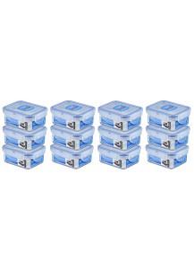 LocknLock: Set 12 x Dose rechteckig 180 ml (HPL805/12)