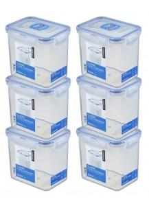 LocknLock: 6x Dose rechteckig 850 ml (HPL808/6)