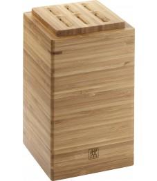 Zwilling: Küchenutensilienhalter 180mm Container Bambus