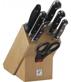 Zwilling: Professional 'S' Messerblock natur, 8-tlg.
