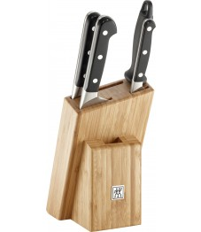 Zwilling: Pro Messerblock 5-tlg. Bambus