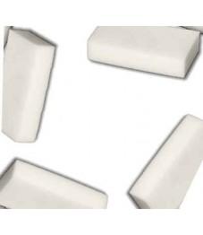 Radierschwamm / Schmutzradierer, weiß