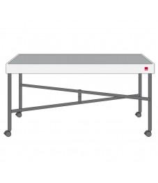 Spring: Concept Table inkl. Kompaktplatte anthrazit, Modul 1/1