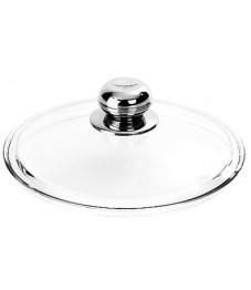 Demeyere:  Pyrex Glasdeckel mit Edelstahl-Knopf