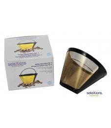 Selexions: Kaffeefilter Gold (Filter Nr. 4)