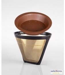 Selexions: GF4 Gold Kaffee-Dauerfilter (Filter Nr. 4) + Tröpfli