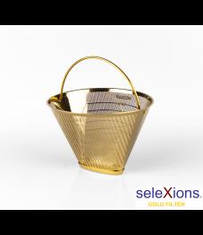 Selexions: GF4MB Gold Kaffee-Dauerfilter (Filter Nr. 4) aus Ganzmetall