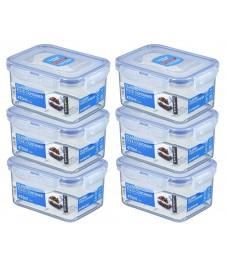 LocknLock: Set 6x LocknLock Dose HPL807, 470 ml (HPL807/6)